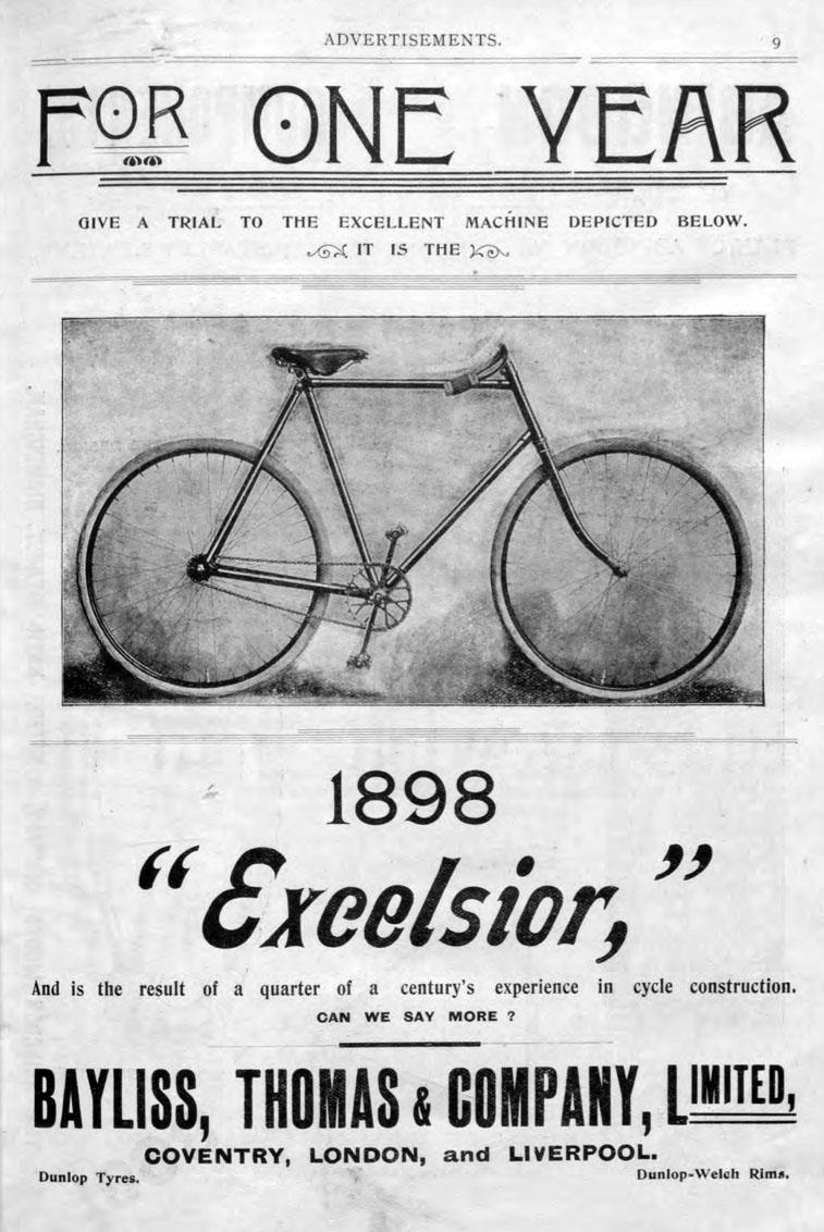 1898 excelsior