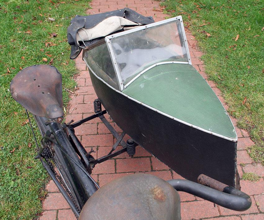 1937 BSA Tandem sidecar 102