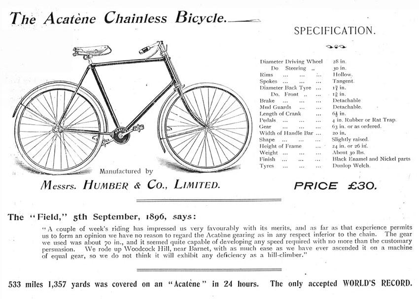 1897 Acatene Humber