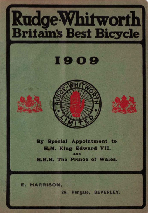 1909 rudge catalogue 1