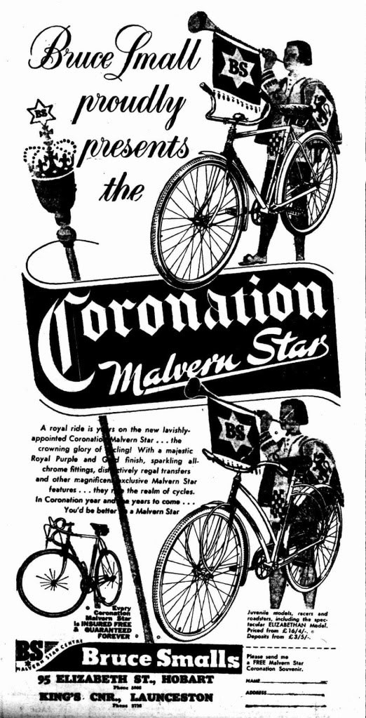 1953 coronation malvern star