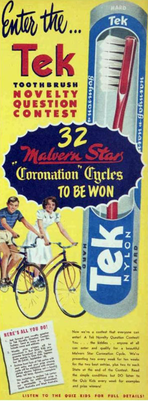 coronation malvern star competition