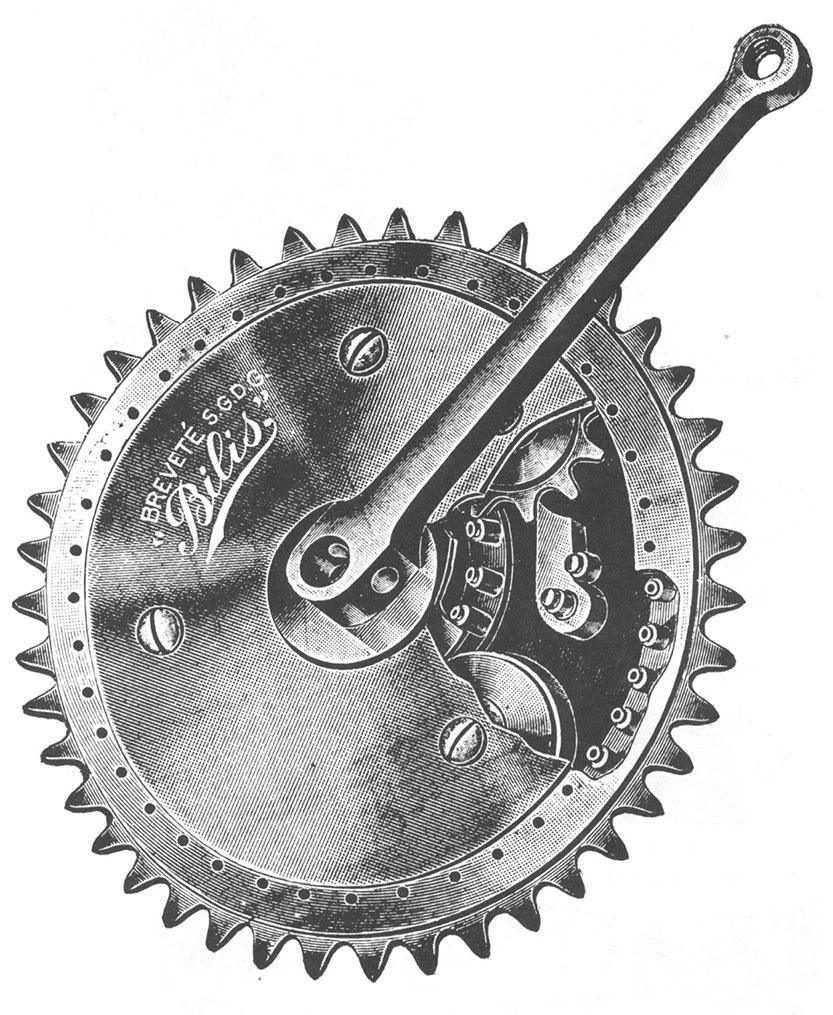 Bilis chainwheel 1925