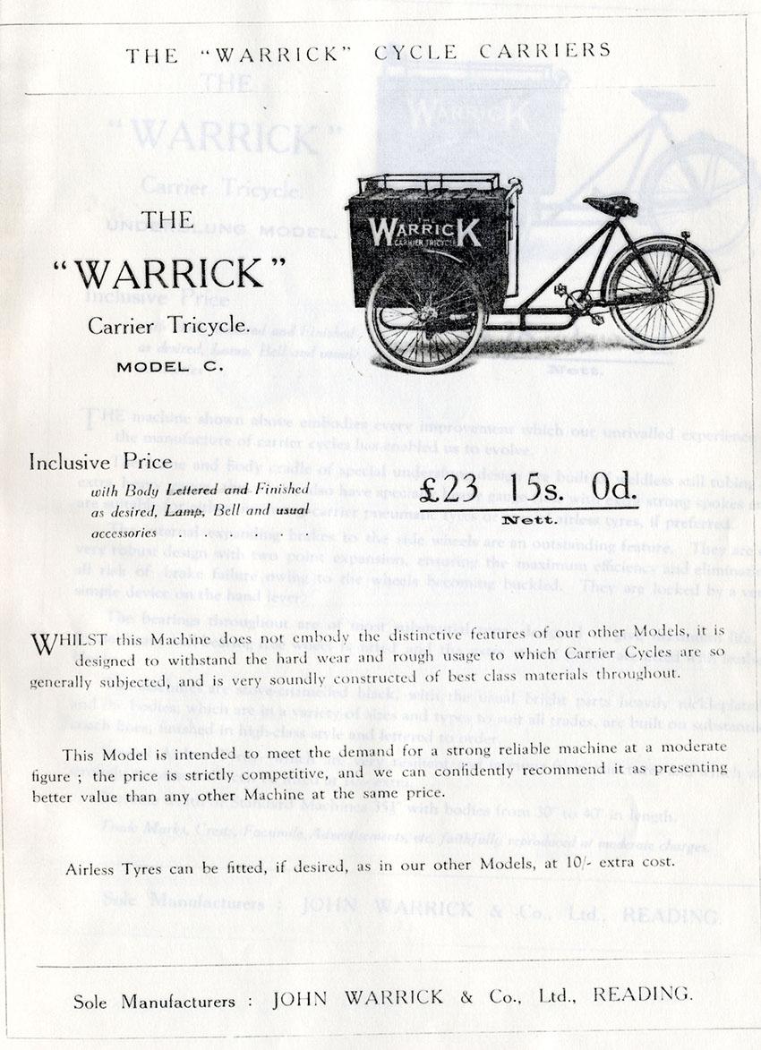 1920 JOHN WARRICK CATALOGUE 2
