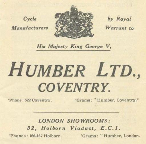 1924 Humber 4