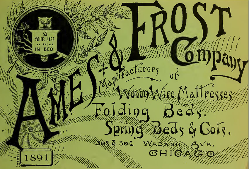 1891 Ames Frost chicago 0