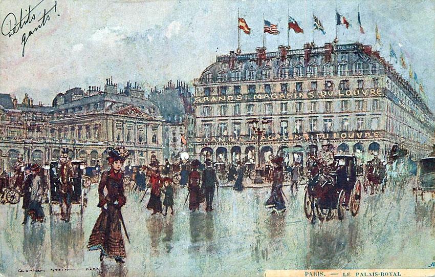 1904 GRANDS MAGASINS DU LOUVRE