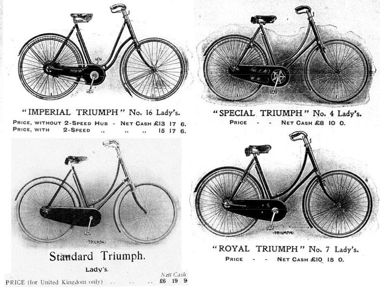 1908 Standard Triumph 99
