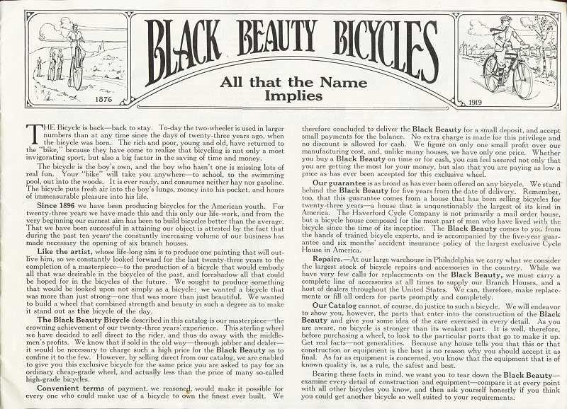 1919 Black Beauty pg 1