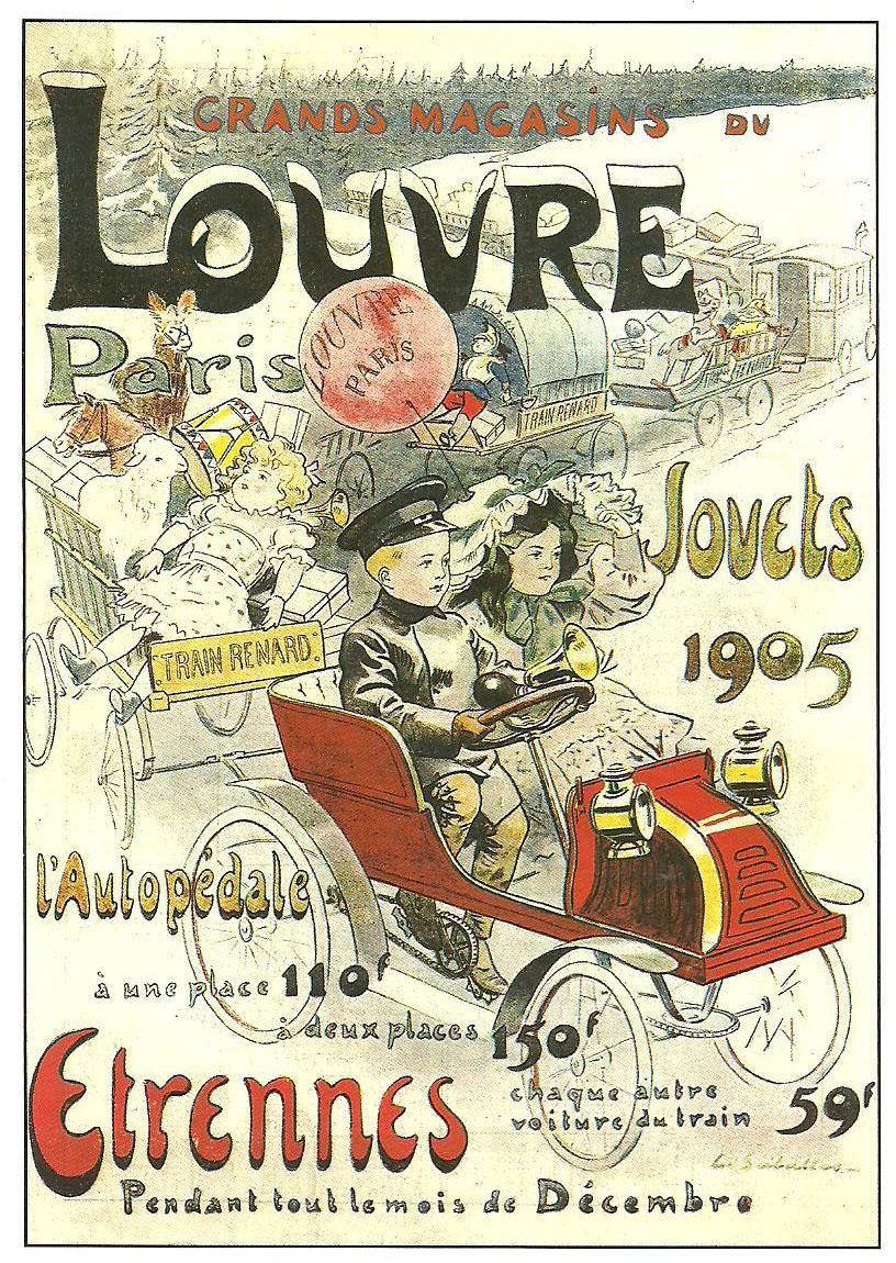 Agenda Grands Magasins du Louvre 1905