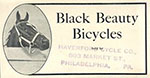 black beuaty pacer bicycle 1917