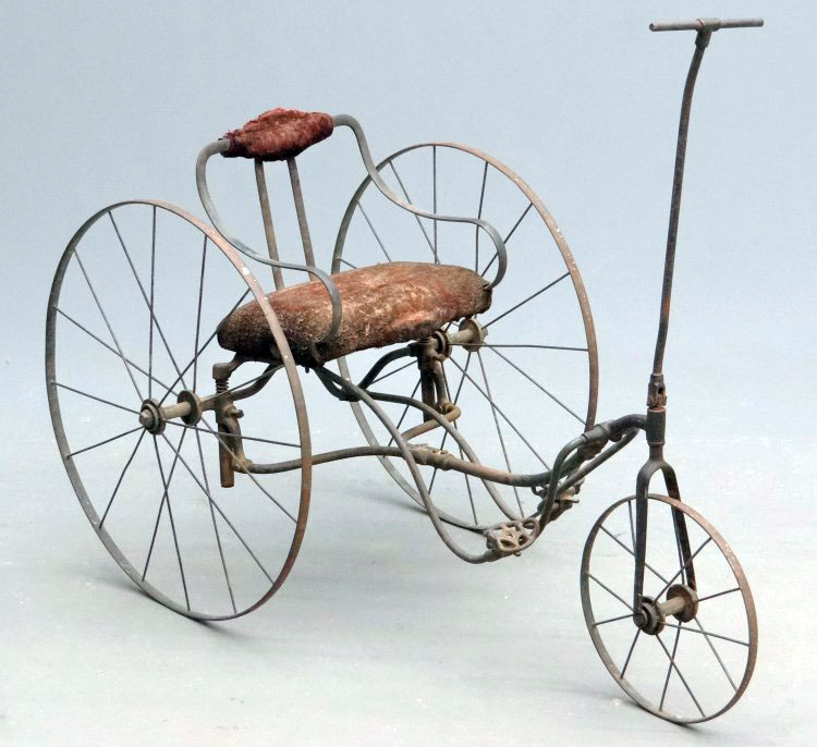 1880s tiller treadle tricycle 01