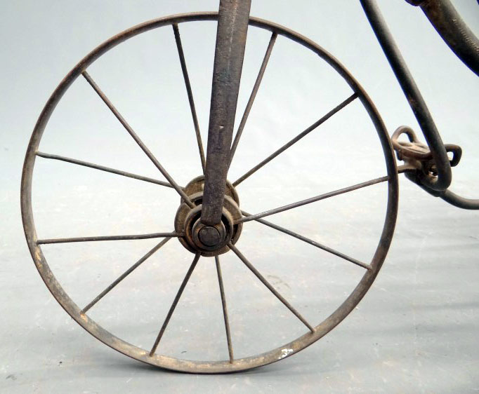 1880s tiller treadle tricycle 24
