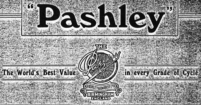 1935 pashley logo