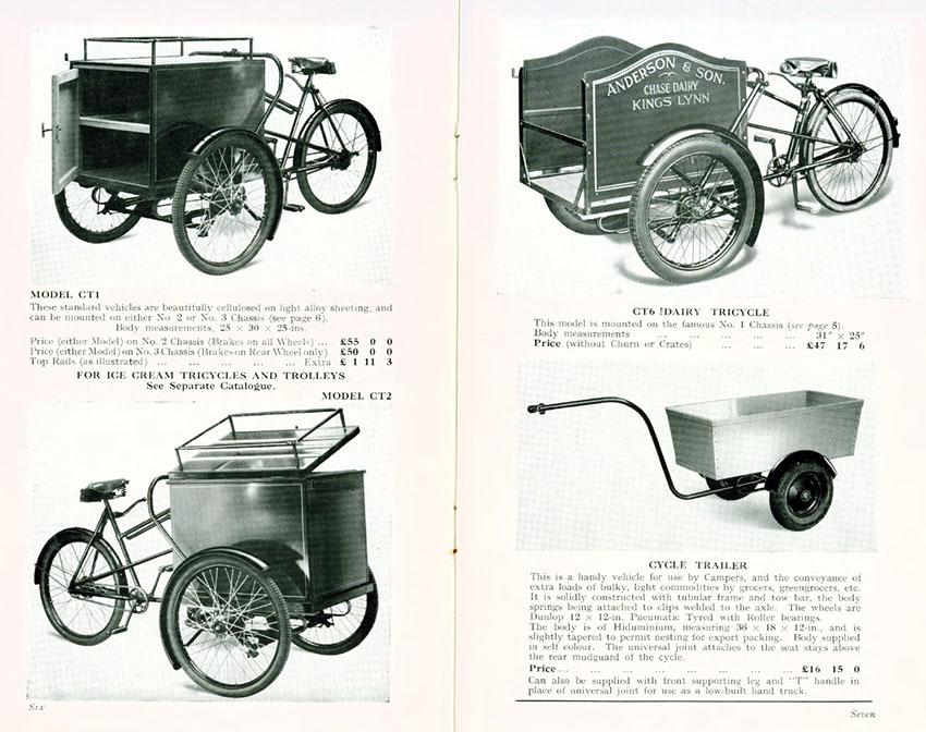 1952 pashley catalogue
