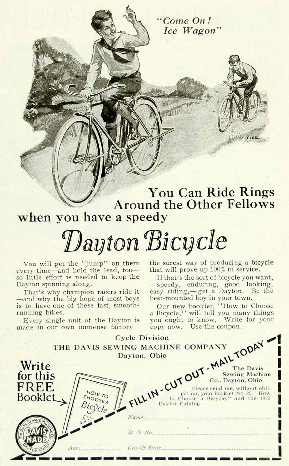 dayton bicycle