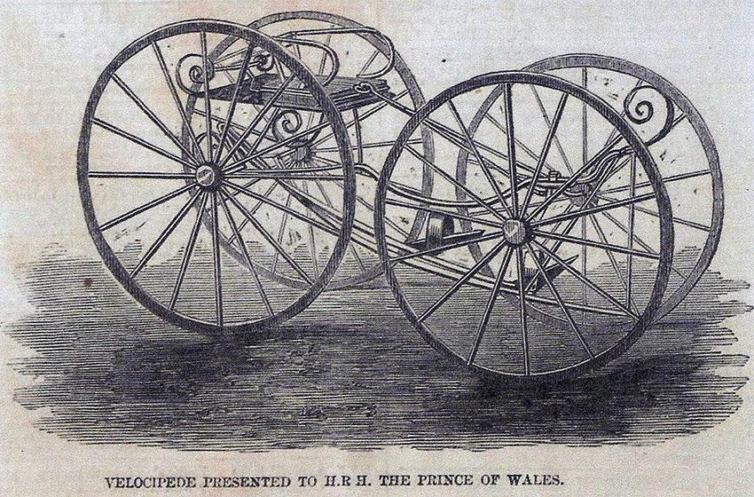 willard sawyer quadricycle