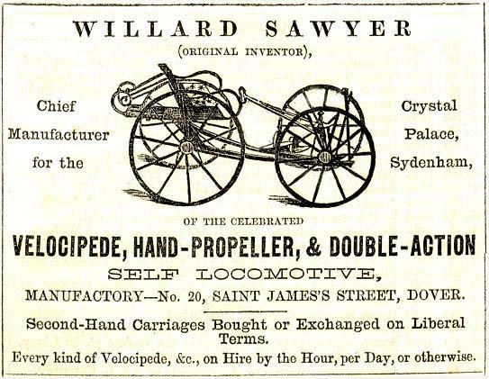 william sawyer quadricycle