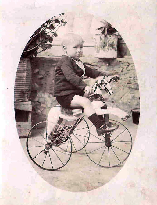 1800s horse tricycle 1