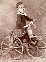 1800s horse tricycle 9