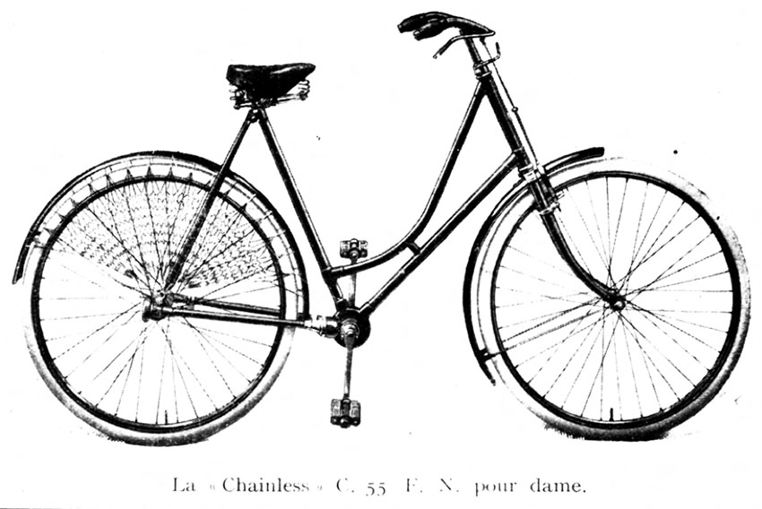 1903 FN Chainless Ladies