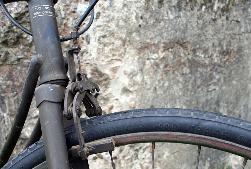 1942 WW2 BSA Airborne Bicycle, 1st Pattern 24