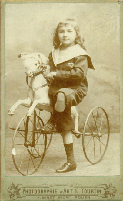 horse tricycle 1880