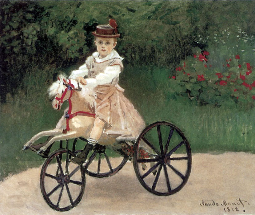 jean_monet_on_his_horse_tricycle_1872
