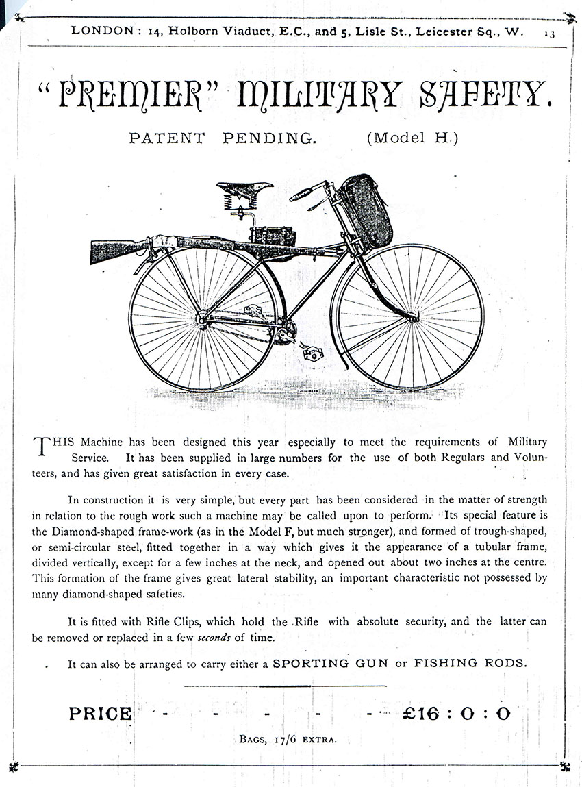 1889 military premier 2nd pattern