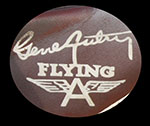 GENE AUTRY FLYING A
