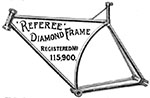 1891 Referee Diamond Frame 1