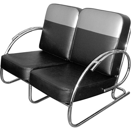 Kem Weber tubular steel chairs