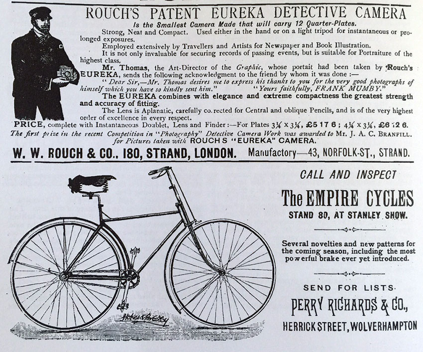 perry richards empire bicycle 1889