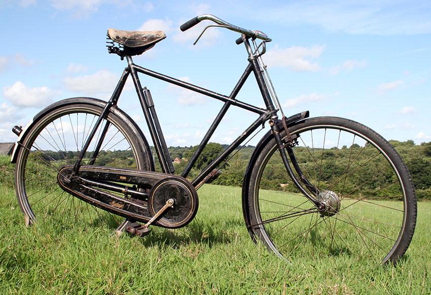 1936 Raleigh X Frame 05