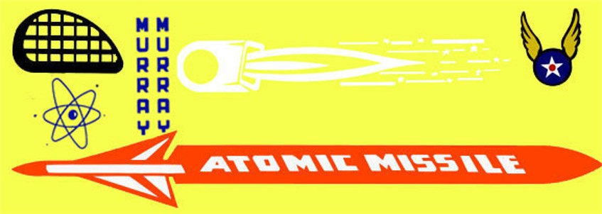 1950s Atomic Missile A19