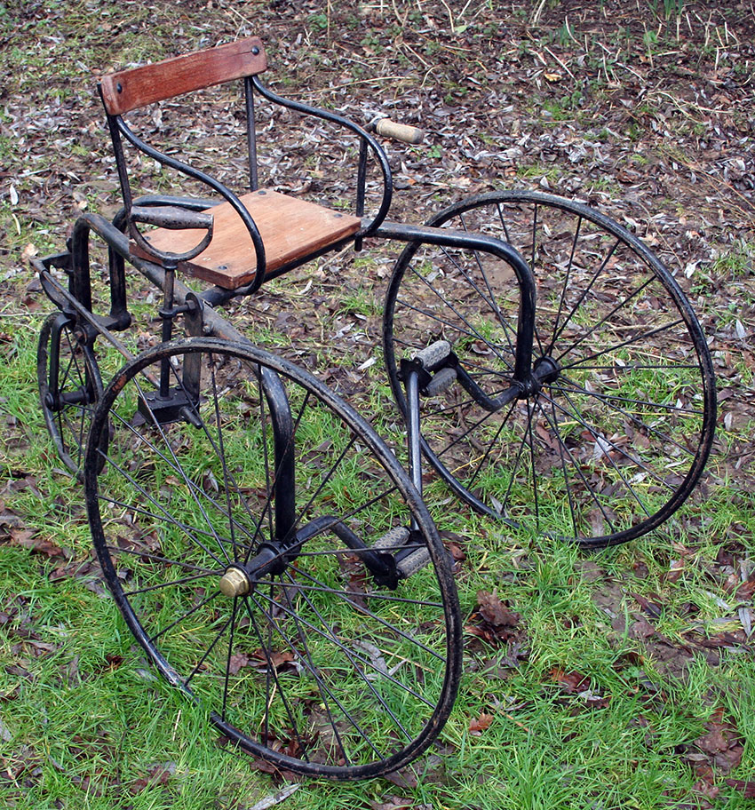 1870s 1880s manumotive tricycle