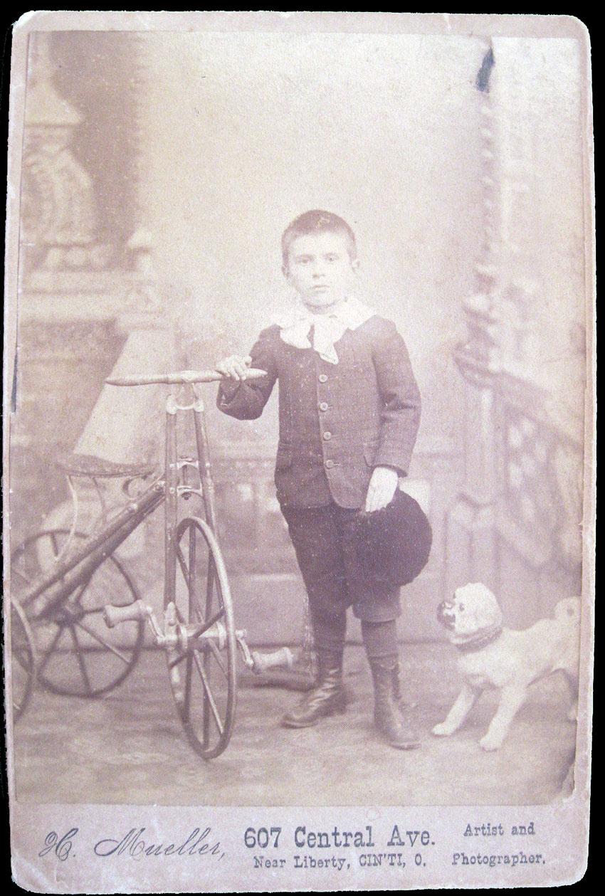 1870s boys velocipede