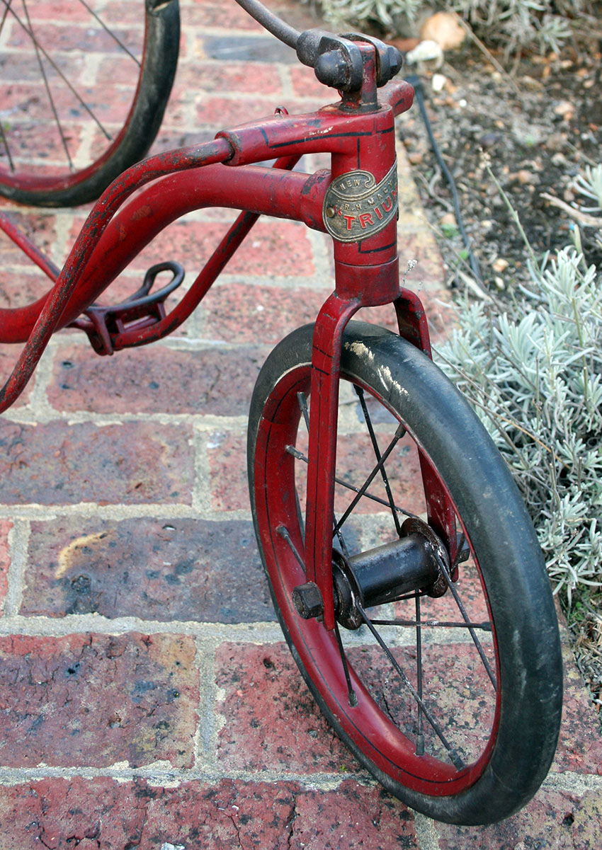 1907 RH Macy Triumph Fairy Tricycle 20