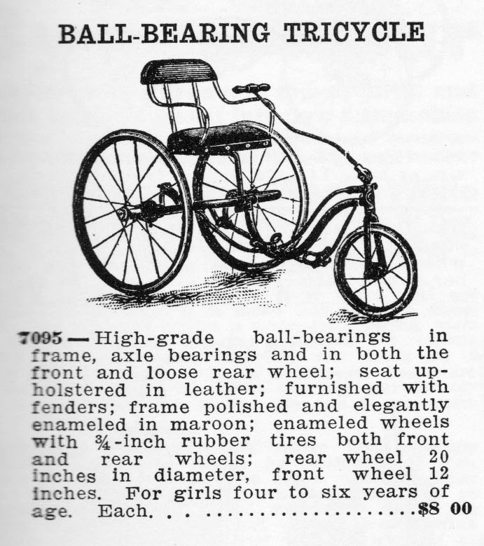 1907 TILLER TRICYCLE 2