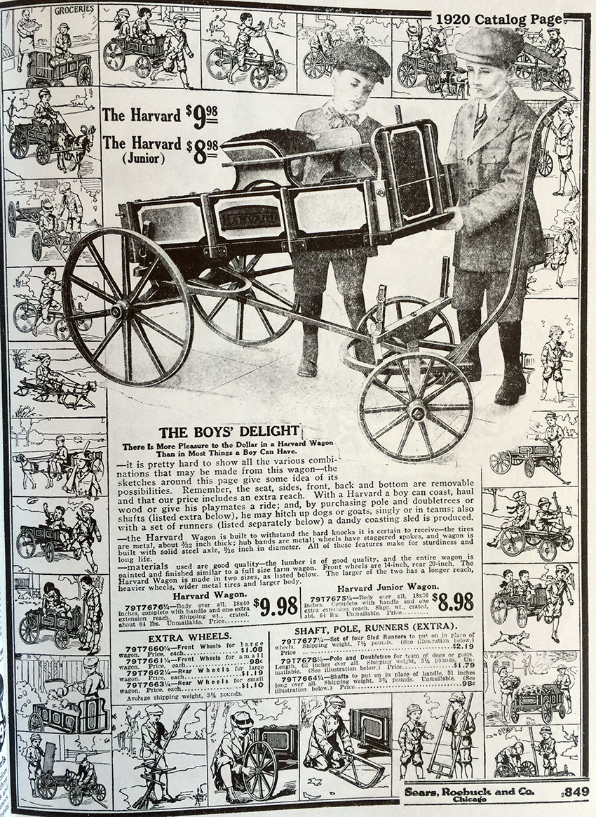 1920 sears roebuck wagons
