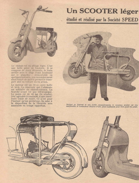 1940s french motor scooters