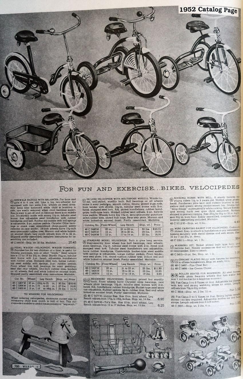 1950s Hettrick Pedalwagon 20