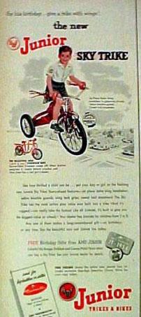 1954 JUNIOR SKY TRIKE
