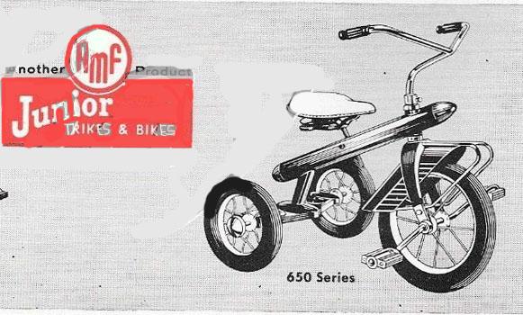 1956 rocketrike 650 series