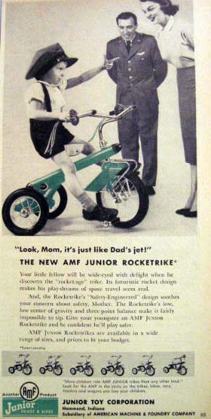 1957 amf rocket 1