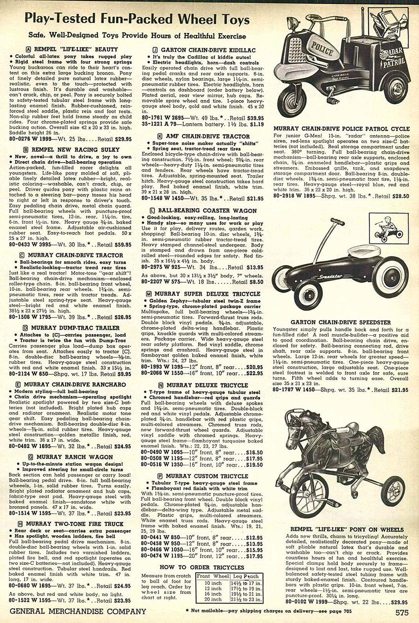 1958 murray 000 police