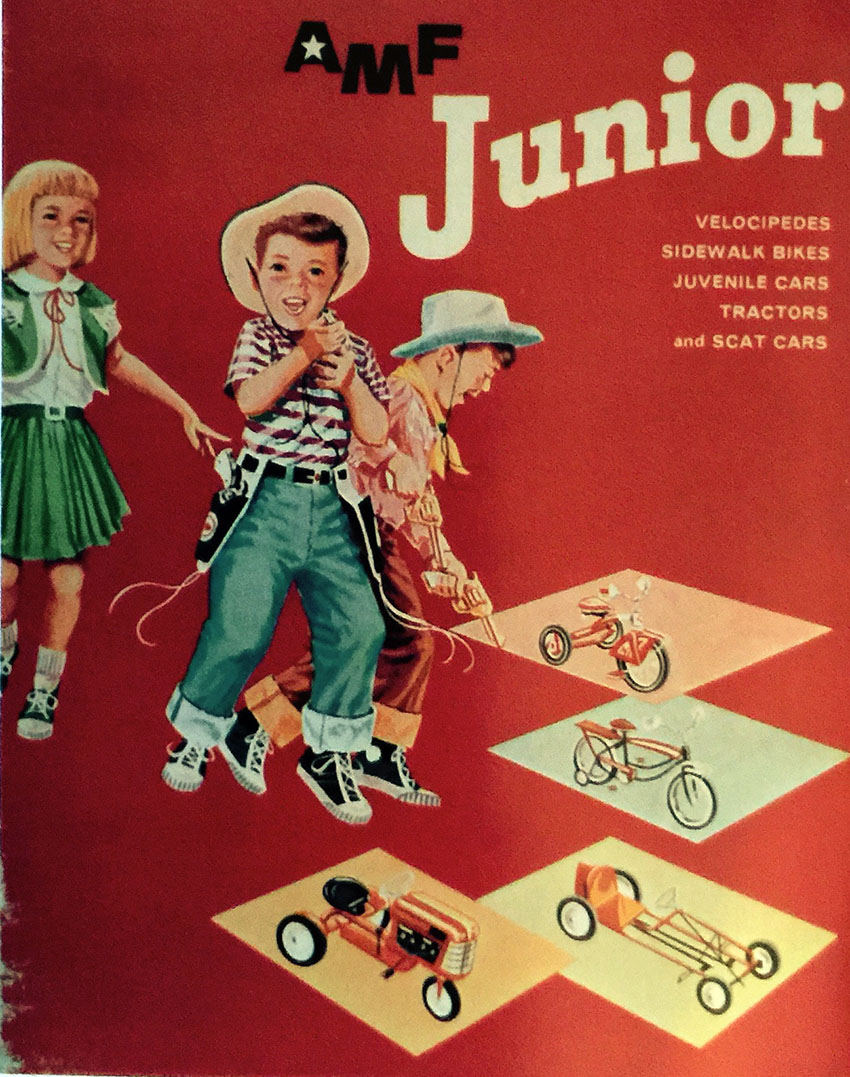 1962 junior toy corp catalogue cover