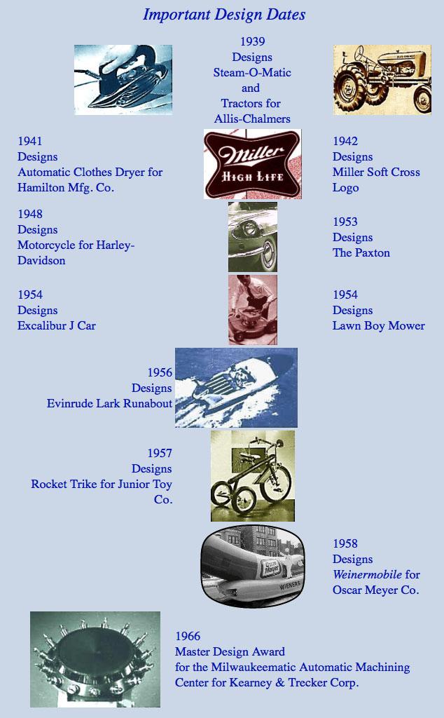 brook stevens rocket tricycle designer