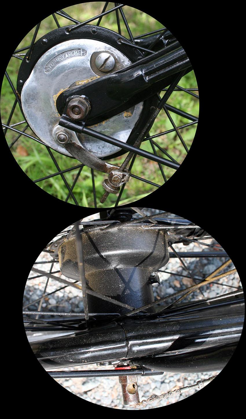 sturmey archer hub gears 1932