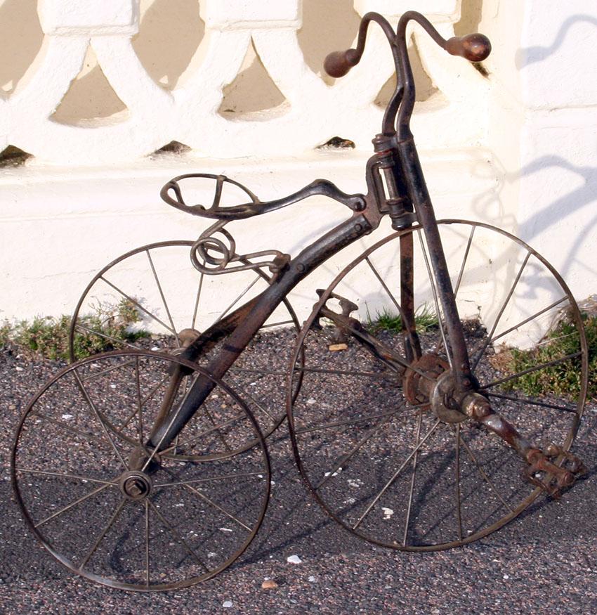 1899 iron velocipede tricycle 60